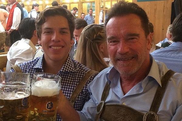 Schwarzenegger publica por primera vez una foto con hijo que tuvo fuera de su matrimonio