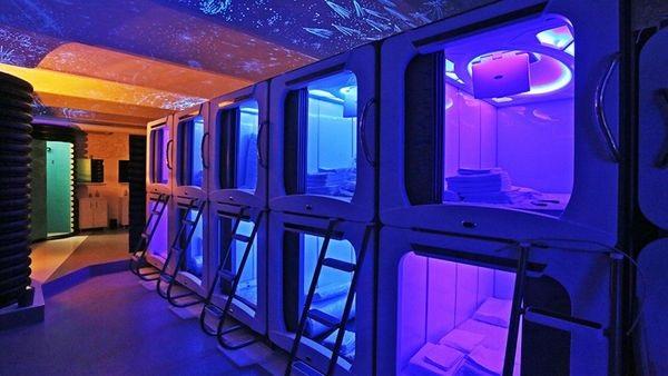 Extravagante hotel que invita a dormir como un astronauta