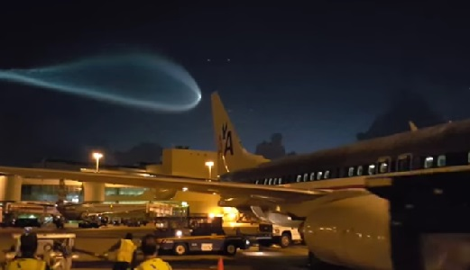 Misterioso OVNI en aeropuerto de Miami