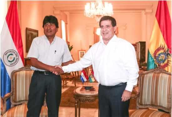 Resultado de imagen para Paraguay y Bolivia firman acuerdos energéticos