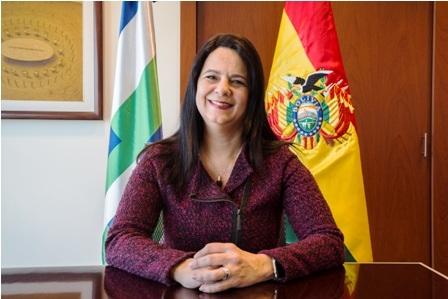 Gladys Genua representará a la CAF en Bolivia