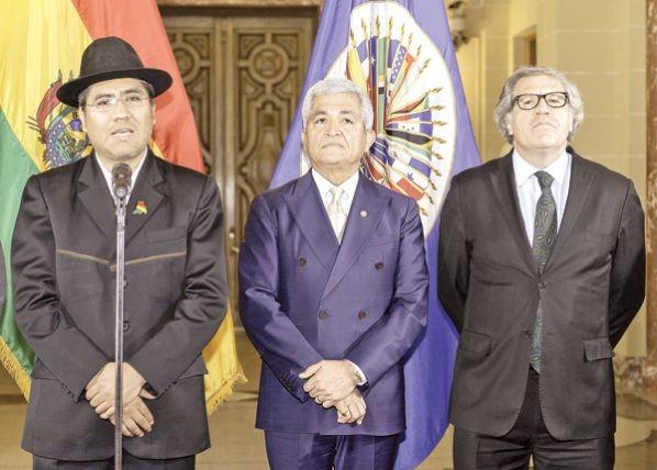 Bolivia denuncia golpe en la OEA y rechaza resolución
