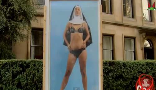 Sexy De Monja Sexy Monja Una De Una Poster Poster EQexdWrBCo