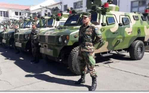 Morales quiere unas FFAA que garanticen la soberanía en América Latina