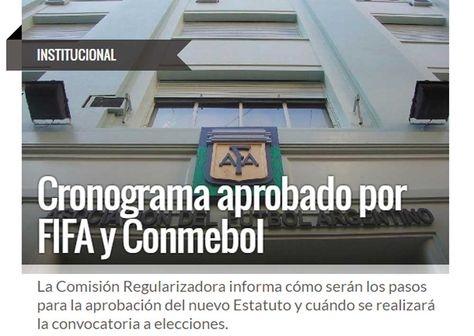 La Asociación de Fútbol Argentino elegirá un nuevo presidente en abril