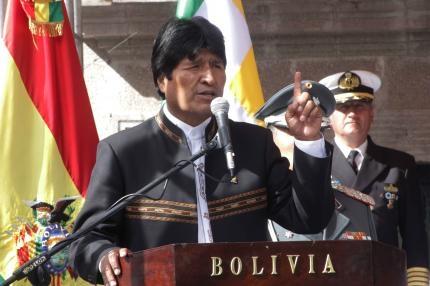 Evo dice que Bolivia es el primer país víctima del calentamiento global